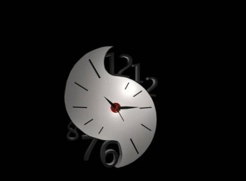 ساعة الديكور