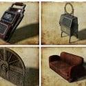 Furniture Decoration Set Free 3d Model