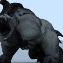 Saddle Beast Animal 3d Model
