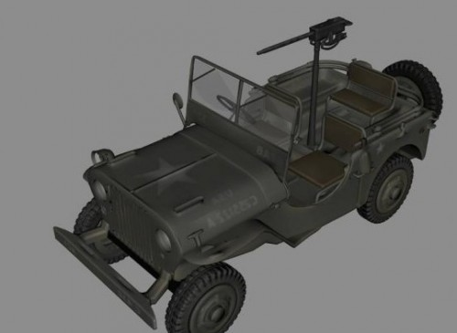 Jeep Wwii Coche