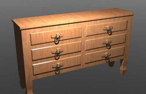 Classic Wooden Drawer