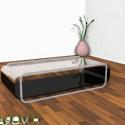 Living Room Modern Glass Table