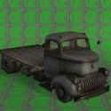 Old Truck Free 3d Model