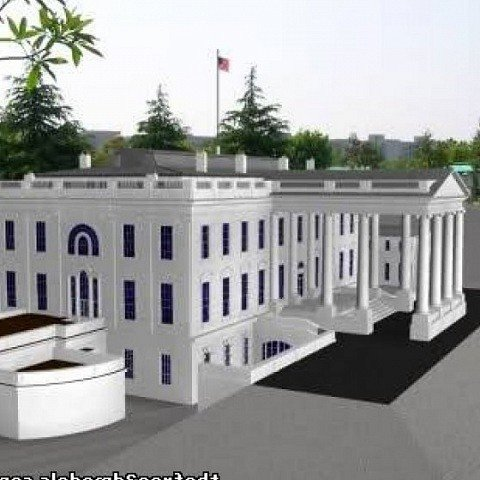 White House Free 3d Model Id7096 Free Download 3ds Max