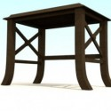Old House Wood Table
