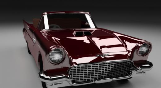 Ford Thunderbird Coche