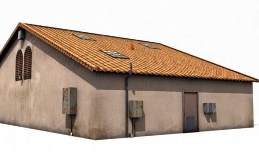 منزل صغير الضواحي