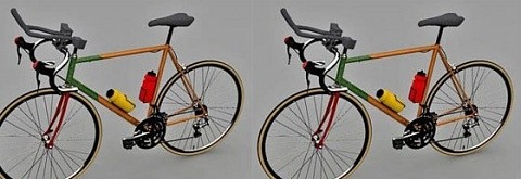 Bicicleta de carretera de carreras