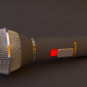 High Poly Microphone
