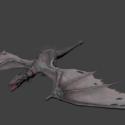 Gringotts Dragon Free 3d Model