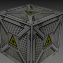 Complement Box 3d Model Free