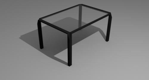 Lowpoly Stylish Desk