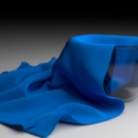 Glass Bowl with Cloth Free 3d Model
