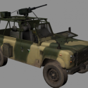 軍用オフロードトラック