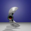 Super Cutter Robot 3d Model