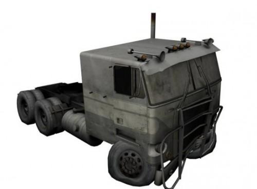 Flatnose Truck Wrecked Free 3d Model Id7739 Free Download Obj