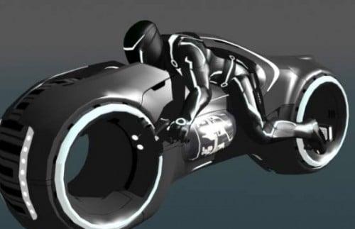 Tron-moottoripyörä