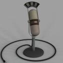 Gammel mikrofon