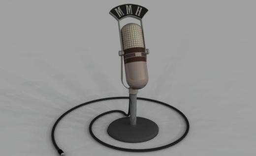 Vanha mikrofoni
