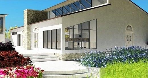 Modern House Free 3d Model