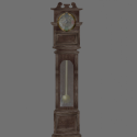 Vintage Western Clock Tower 3d Model