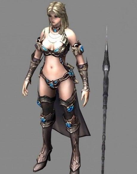 Elementalist Female Character