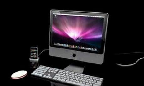 Apple Imac näppäimistöllä