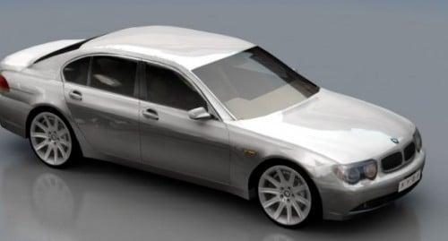 Bmw 7s Car
