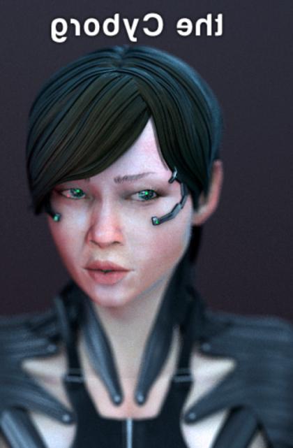 Cyborg Personaje Femenino