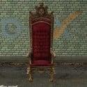 Duke Throne Chair 3d Model