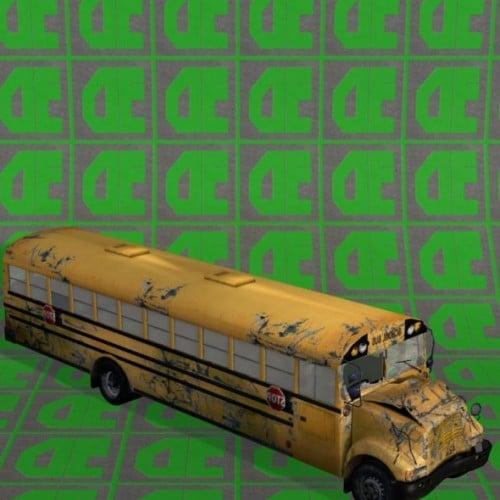 School Bus Wrecked Free 3d Model Id7685 Free Download Obj Dae
