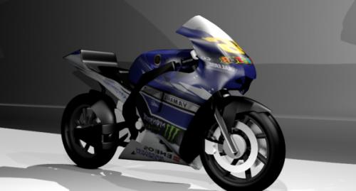 Yamaha M1 2013 moottoripyörä