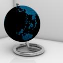 Modern Globe Free 3d Model
