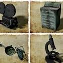 Camera Microscope 5 Free 3d Model