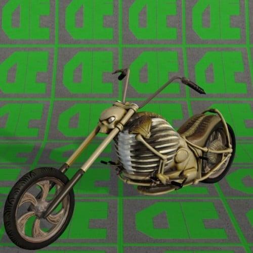 Lost Soul Bike Free 3d Model ID7750 - Free Download ( obj