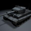 Tanque Tigre Veterano