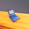 Retro Gameboy Sp Free 3d Model