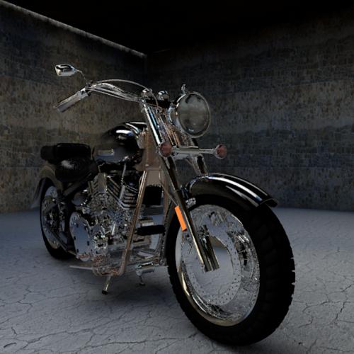 Yamaha-moottoripyörä