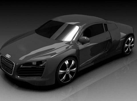 New Audi R8 Car