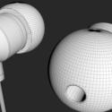 Earphones Free 3d Model