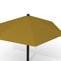 Coffee Umbrella Free 3d Model