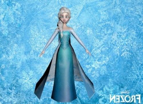 Elsa Frozen Character