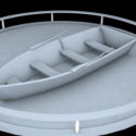 High Poly Boat Free 3d Model
