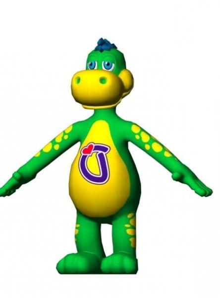 Sarjakuva dinosaurus