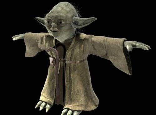 Star Wars Master Yoda Character Free