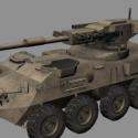 Stryker MGS Tank