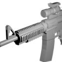 Colt M4a1 Free Gun 3d Model
