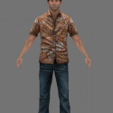 Harry Mason havajská košile