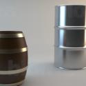 Barrels Free 3d Model