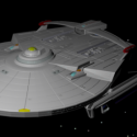 Reliant Aus Star Trek Aircraft Free 3d Model